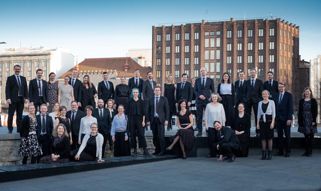Spira Ensemble Foto: Kai Bäckström